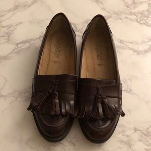 Bungundy loafers